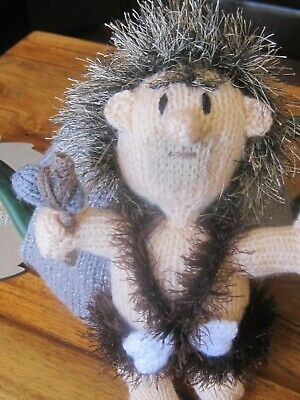 Hand Knitted Caveman Tea Cosy. Father's Day.