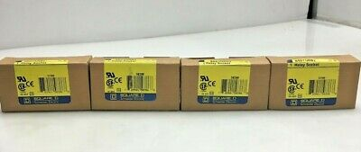 NEW SQUARE D 8501-NR82 RELAY SOCKET Series C (LOT OF 4)