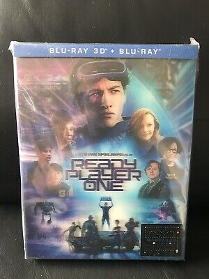 ready player one Manta Lab ME#17 Double Lenticular Full Slip 2D/3D Steelbook