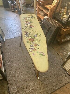 antique painted wooden ironing board