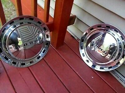 1952  Ford Crestline Hubcaps Wheel Covers Nos Set Of Four