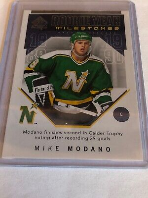 2018-19 SP Authentic Rookie Year Milestones Mike Modano RYM-MO