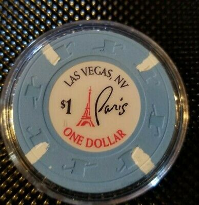 Paris Casino Las Vegas $1 Chip (Unc-New) E8204
