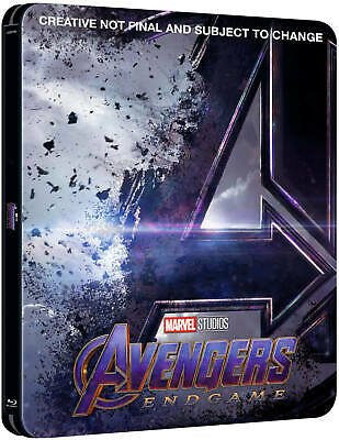 Avengers End Game (3D + 2D Blu-ray) Steelbook W/ Protective Cover