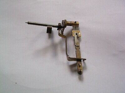 ESCAPEMENT LEADER ARM ETC  FROM AN OLD TOP HAT   MANTLE CLOCK  REF pp109