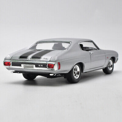 1:18 Scale 1970 Chevrolet Chevelle SS 454 WELLY DIECAST MODEL TOY CAR Muscle Car