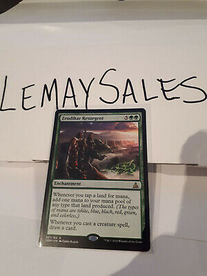 Zendikar Resurgent - Oath Of The Gatewatch - Rare Mtg Nm/M