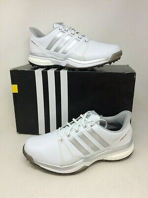New In Box! Men's Adidas Adipower Boost 2 WD Golf Cleated Size 8.5W White 53W