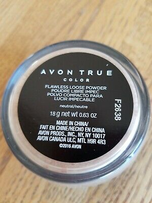 Avon True Color Flawless Loose Powder - Neutral - New Unopened Box