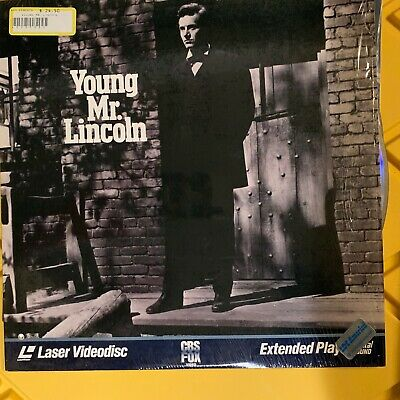 """Young Mr. Lincoln - 12"""" Laserdisc Buy 6 for free shipping"""