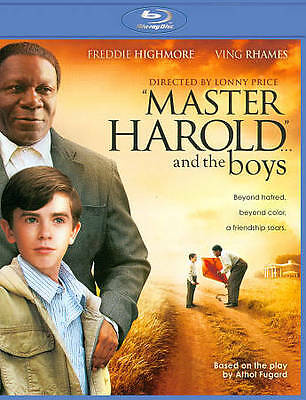 Master Harold And The Boys (Ving Rhames, Freddie Highmore) *New Blu-Ray*