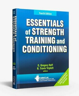 NSCA Essentials of Strength Training and Conditioning CSCS Certification EB00Ks