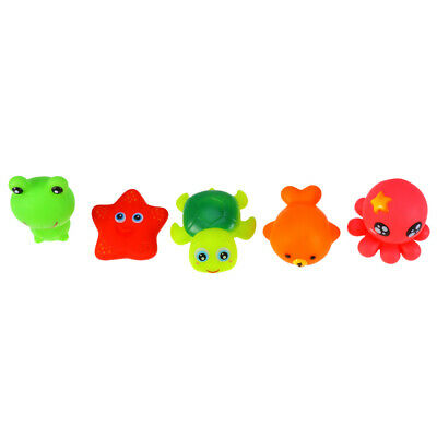 5PCS Bath Toy Set Durable Cute Funny Bathtub Toys Shower Toys for Toddlers Kids