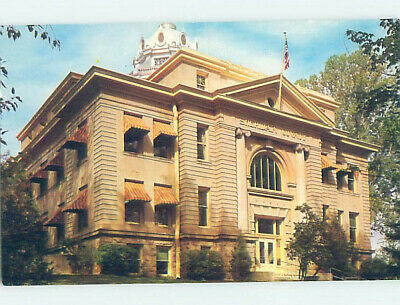 Pre-1980 COURTHOUSE SCENE Sheridan Wyoming WY AE9750