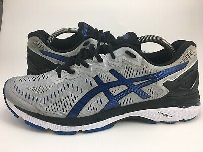 separation shoes 5befc 0a2a6 ASICS GEL-KAYANO 23 Running Shoes Men's Size Us 10.5 Silver Blue T646N