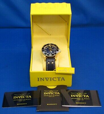 INVICTA 22076 Pro Diver 43MM MASTER OF THE OCEANS 200M WR Blue Dial Quartz Watch