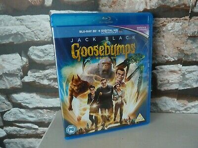 Goosebumps 3D (Jack Black) Blu Ray  - Fast/Free Posting.