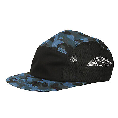 more photos 4f504 d3042 WITHMOONS 5 Panel Camper Hat Jockey Flat Bill Cap Meshed Camouflage TG21194