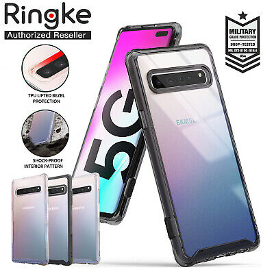 Galaxy S10 5G Case Genuine RINGKE FUSION Glitter Clear Cover For Samsung