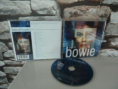 Best Of Bowie -  Cd Album. Fast/Free Posting 2019.