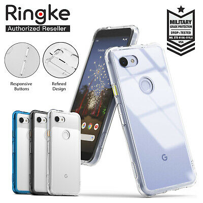 Google Pixel 3A XL 3AXL Case Genuine RINGKE FUSION Clear Shockproof Cover