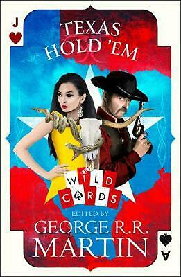 Texas Hold 'em by George R.R. Martin Hardcover Book Free Shipping!