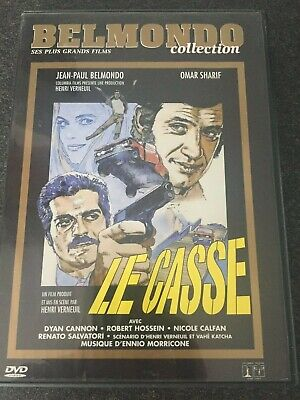 """DVD  """" Le casse """" collection Belmondo N° 42 comme neuf"""
