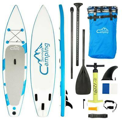 "SUP Inflatable 11'x32""x6"" Stand Up Paddle Board w/Pulp Pump Storage Backpack"