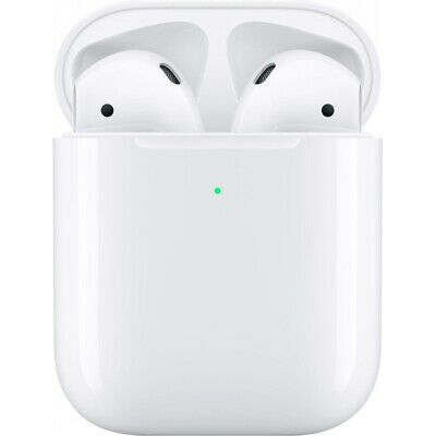Apple AirPods 2 + Wireless Charging Case White Qi Lautsprecher MRXJ2ZM/A WOW!