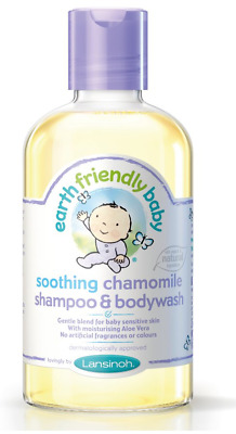 Earth Friendly Baby Chamomile Shampoo & Bodywash 250ml