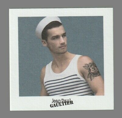 Carte publicitaire - advertising card - Le male de Jean Paul Gaultier