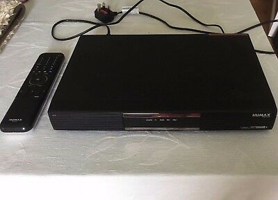 Humax PVR-9150T DVR Digital Freeview+ Playback TV 160GB Recorder Twin Tuner UK