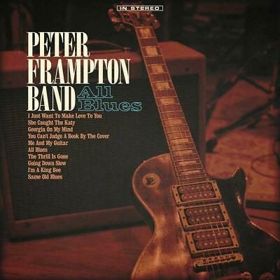 All Blues Audio CD Peter Frampton Band ecorded at Frampton's home studio NEW