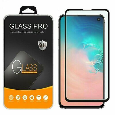 Samsung Galaxy S10 S10 Plus 10e 5G Full Coverage Tempered Glass Screen Protector