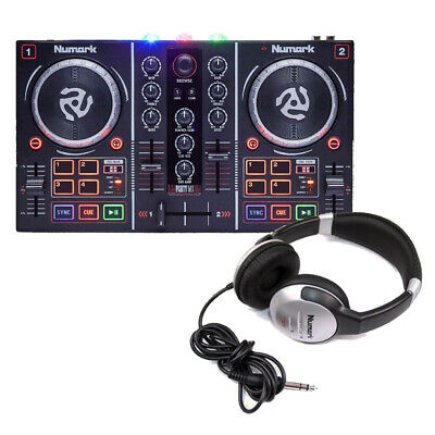 Numark Party Mix With DJ Headphones