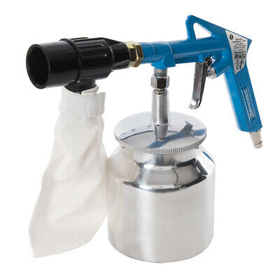 Sliverline Recirculating Sandblasting Kit 6pce 03-4Bar 43 – 58psi (372673)