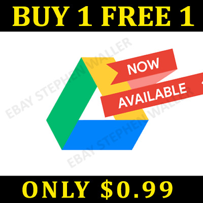 Google Drive Unlimited Lifetime Storage - Biz Acc Not Edu - Buy1 Free1