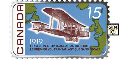 "2019'100th Ann.- 1st Non-Stop Transatlantic Flight"" $20 Fine Silver Coin (18759)"