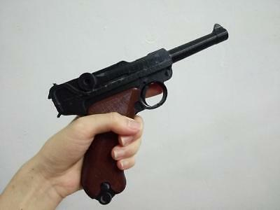 Dummy model gun WWI reenactment Luger P08 Pistole 08 WWII costume cosplay prop