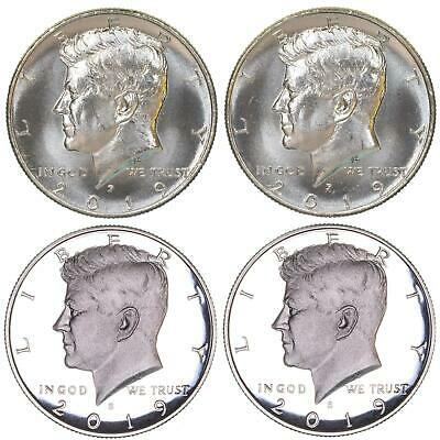 2018 P D S S Silver /& Clad Proof Kennedy Half Dollar PDSS Sealed US Mint Cello