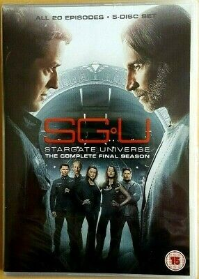 SGU: Stargate Universe - Complete Final Series 20 Episodes New & SEALED