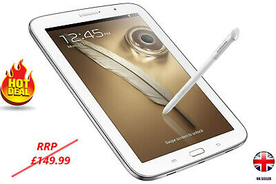 Samsung Galaxy Note 8 GT-N5110, Note 511 16GB, Wi-Fi, 8in Tablet- Pearl White UK