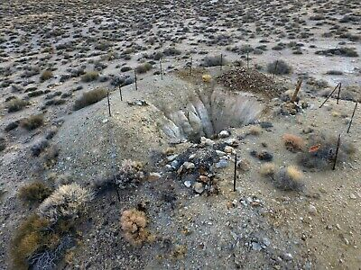Nevada Gold Mine Lode Mining Claim Tonopah Copper Silver Shaft Historic District