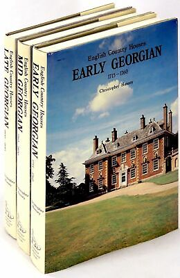 Christopher Hussy / English Country Houses Early Georgian 1715 1760 Mid Georgian