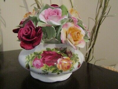 "Royal Albert ""Old Country Roses"" Floral Cluster Spotless!"