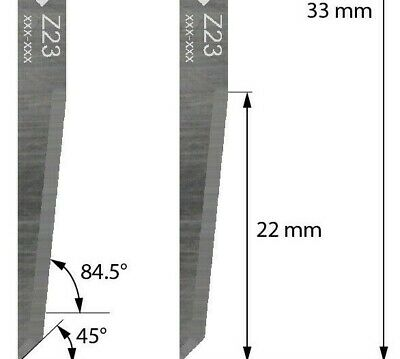 ZUND Z23 Equivalent Cutting Blade ideal for corrugated materials