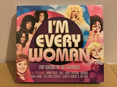 I'M EVERY WOMAN - Pop Queens Of The Seventies (70s) - 3x CD Album *NEW & SEALED*