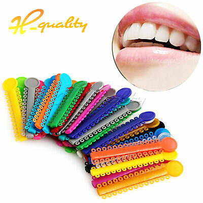 1040pcs/1park color for choose Dental Orthodontic Ligature Ties FDA approved