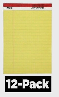 MEAD LEGAL PAD 5 In  X 8 In  Yellow Pack of 12 - $14 51 | PicClick