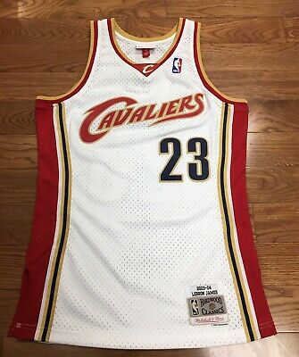 size 40 0b0d7 207a4 CLEVELAND CAVALIERS LEBRON James Mitchell & Ness Swingman Jersey